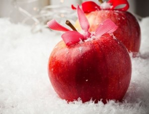 manzanas navidad clinica vicario