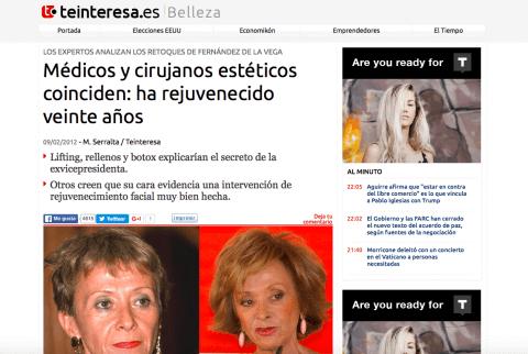Los Retoques de Fernandez de la Vega