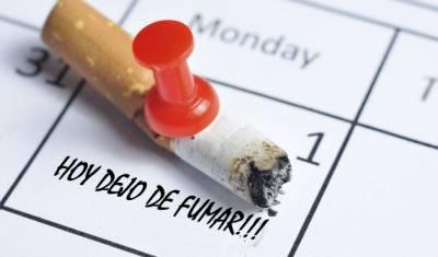 Dejar de Fumar hoy mismo!