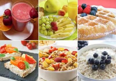 los desayunos ideales para cada edad