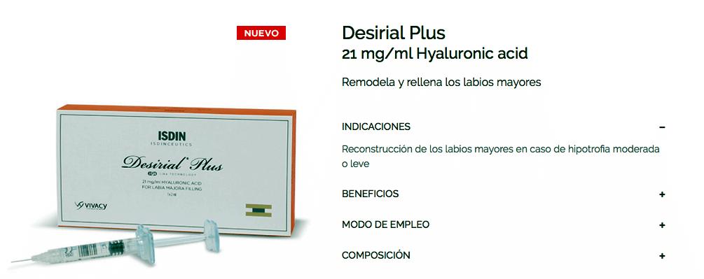 Desirial ® Rejuvenecimiento intimo 3
