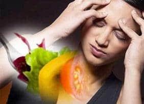 la histamina en el consumo excesivo de alimentos