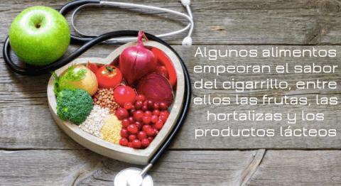dieta de ayuda al dejar de fumar